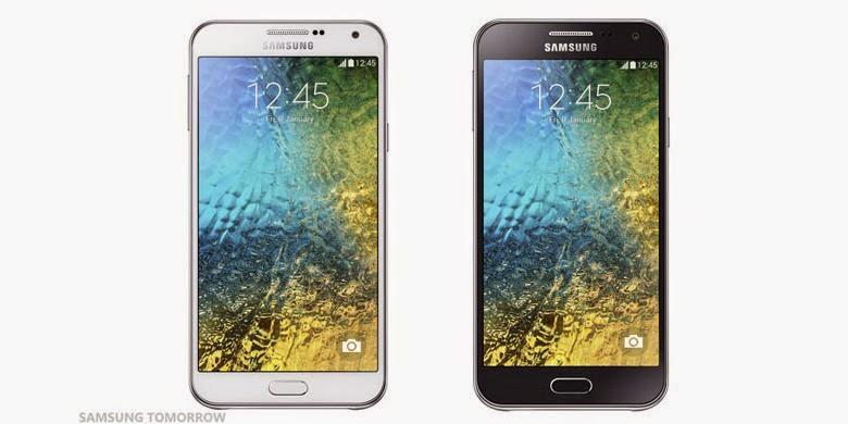 "Samsung Rilis Galaxy ""Selfie"" E7 dan E5"