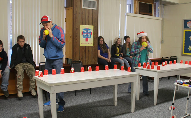 Minute to Win It Games via Knick of Time