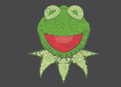 "Threadless Muppets T-Shirt ""Muppetational Mosaic"""