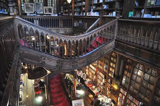 Fin de semana en Oporto. Libreria Lello e Irmao
