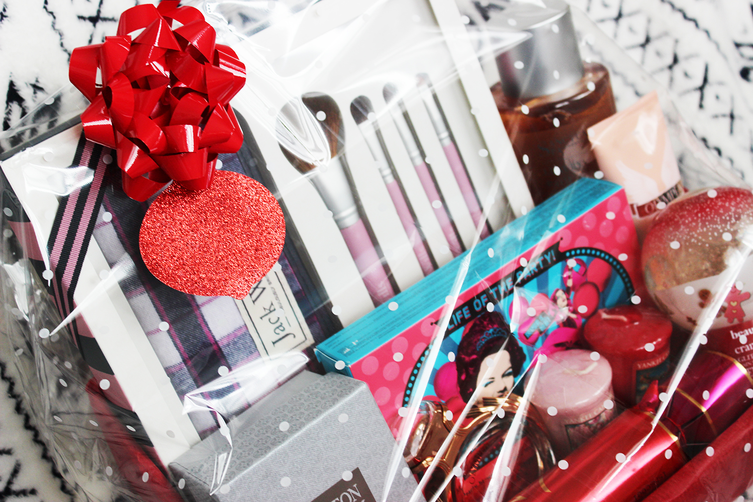 How to make a diy beauty hamper with a little help from Boots - the finished product