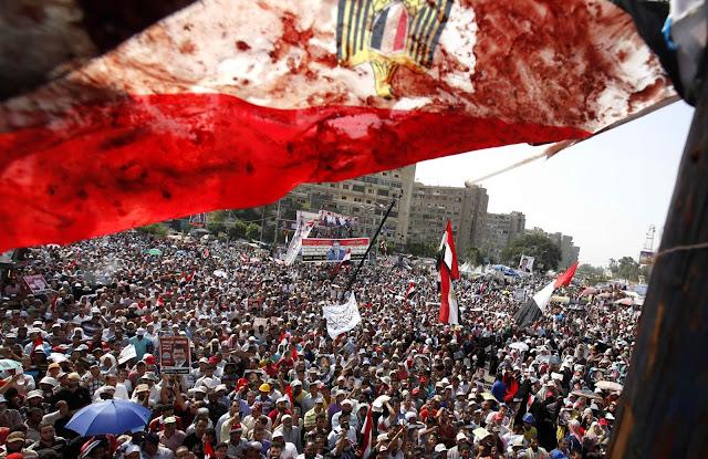 Akhirnya Militer Mesir Akui Bantai Tahanan Pendukung Mursi
