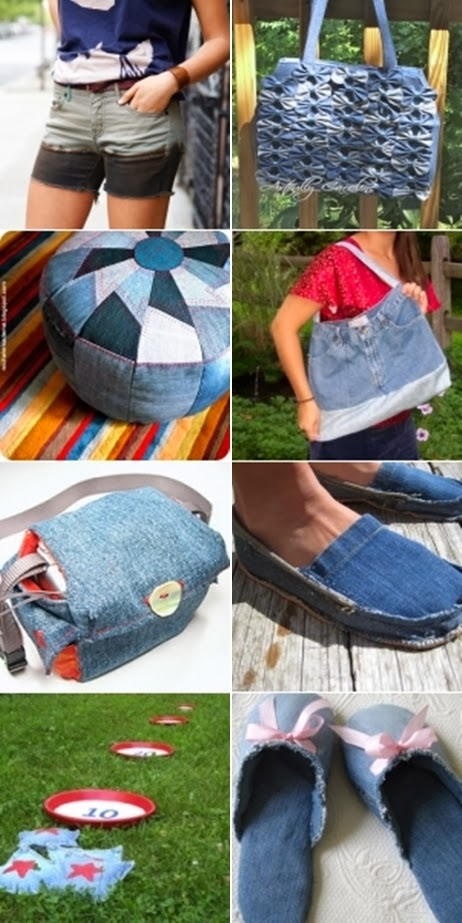 33 Clever Ways to Reuse Denim Jeans