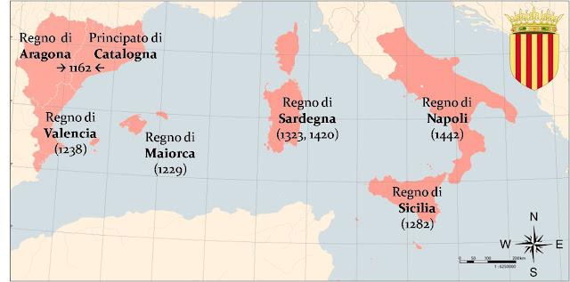 Espansione mediterranea Corona d'Aragona