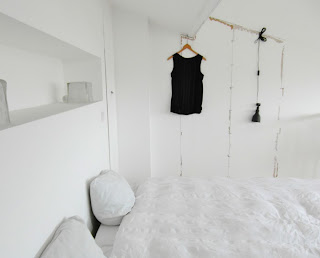 My Interview to the Blogger Elvera from ELV'S. She shows us her minimalist and monochrome house