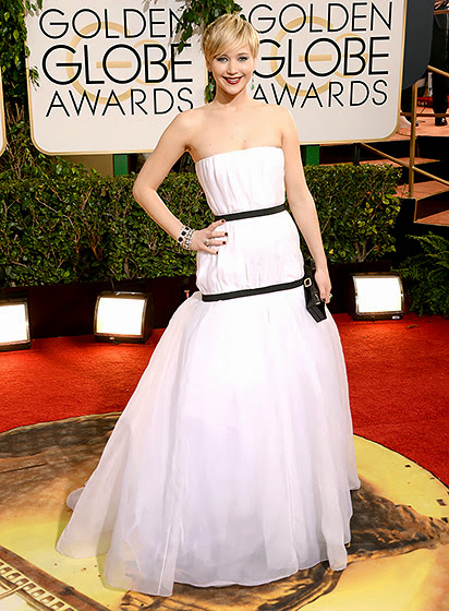 Jennifer Lawrence in Golden Globes 2014