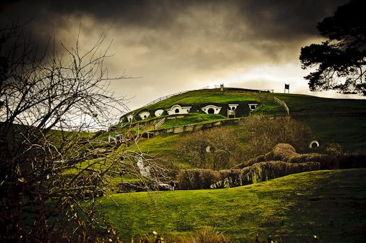 Hobbit Niezwykła podróż film pejzaże krajobrazy