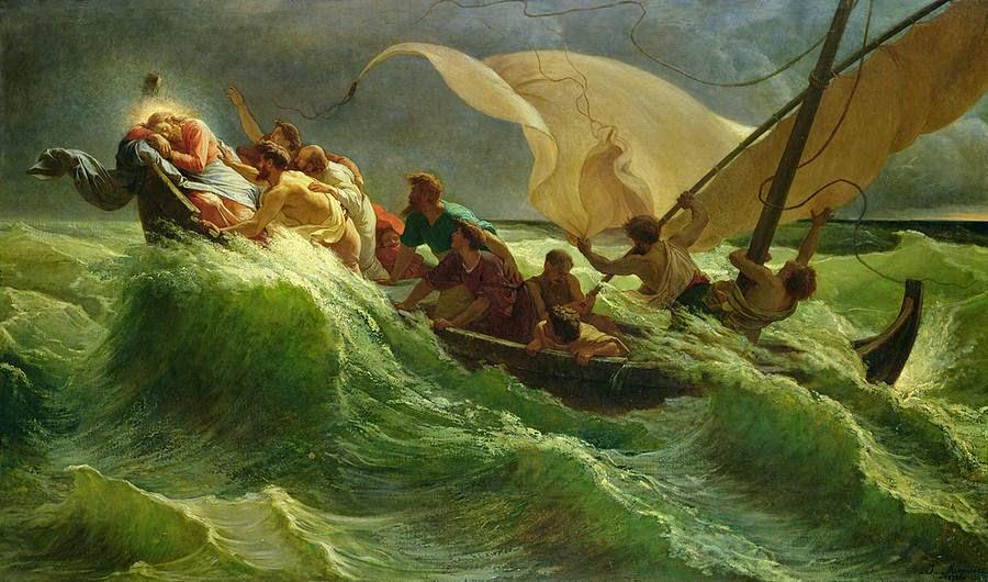 лодки во времена иисуса христа
