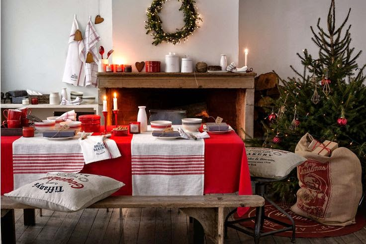 H&M home christmas 2014 - shabby&countrylife.blogspot.it