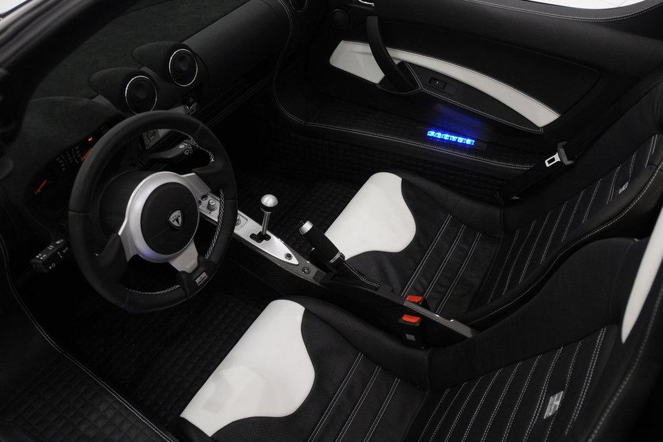 Brabus Tesla Roadster Interior