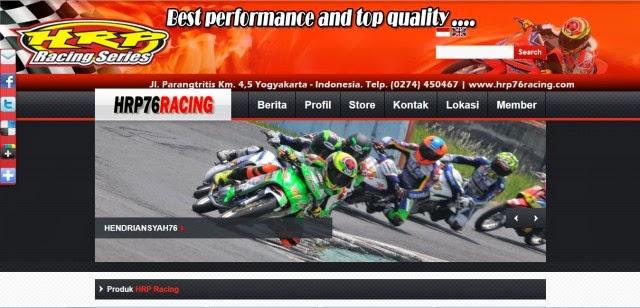 Hrp76racing.com Jual Produk Sepeda Motor Balap Terpercaya