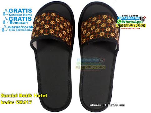 Sandal Batik Hotel