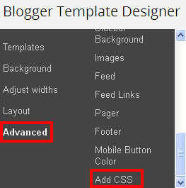 Add CSS Codes In Blogger