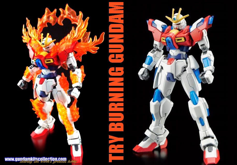 HGBF 1/144 Try Burning Gundam - Release Info, Box art and Official Images