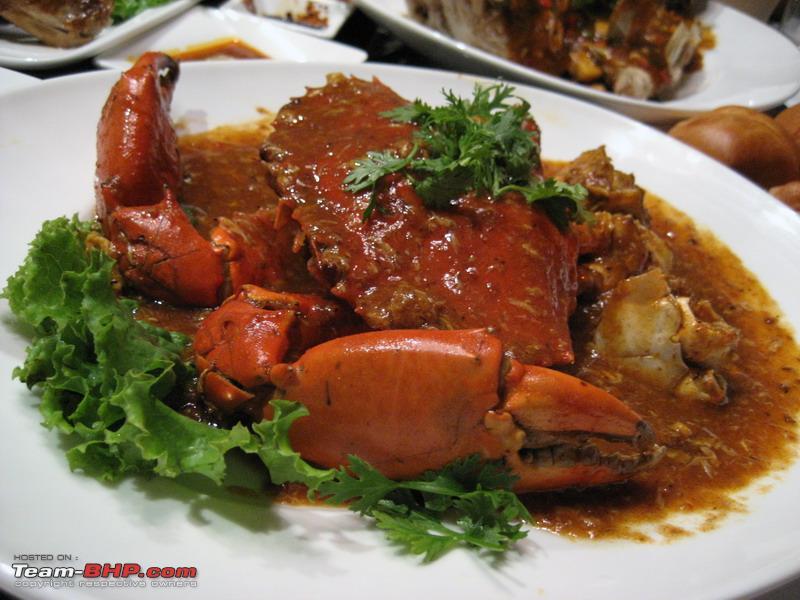 Singaporea Chili Crab