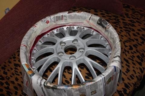 Покрасить диски авто своими руками фото 376