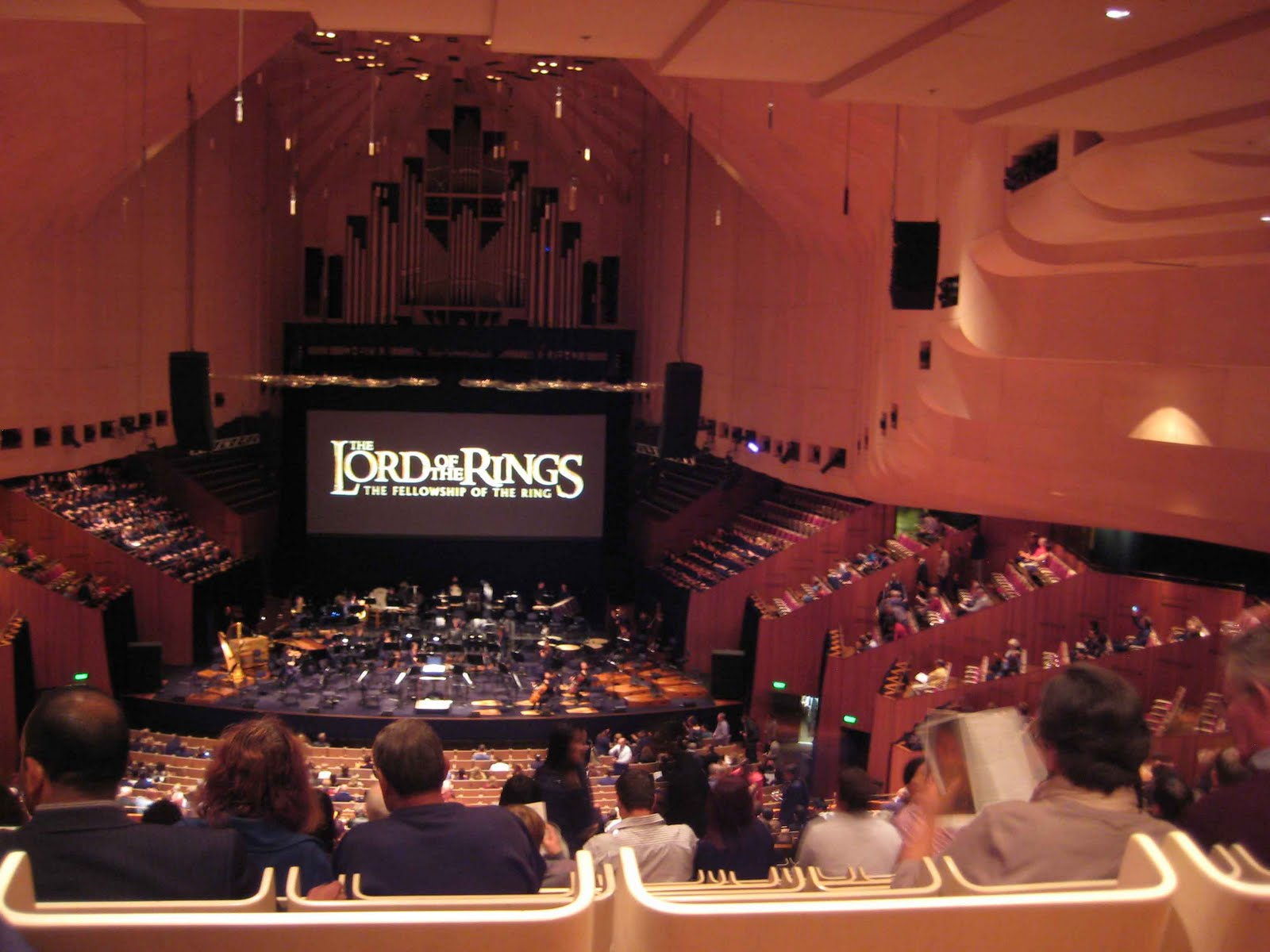 Sydney Opera House Northern Foyer : Sydney opera house concert hall northern