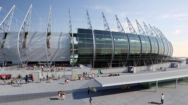 Veja como ficará o estádio Castelão