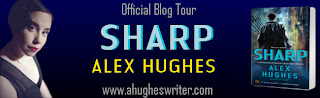 Sharp blog tour banner