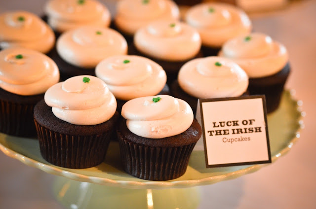 Twin Cities Wedding Cupcakes - Luck of the Irish by Cocoa & Fig