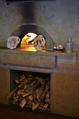 wood fired oven at Camino in Oakland