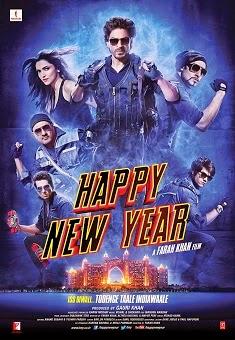 Happy New Year (2014) Hindi Movie Poster