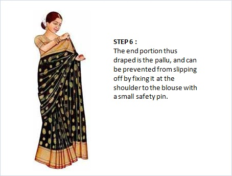 indian wrap dress instructions