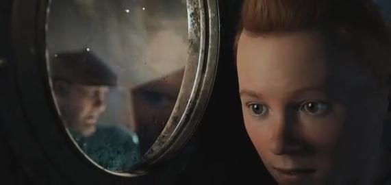 Film Tintin teaser