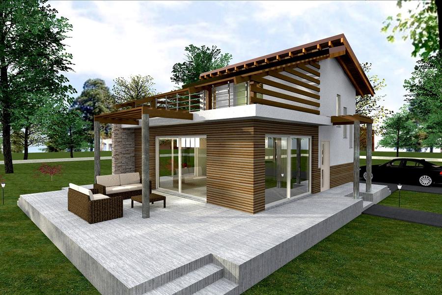 Bioedilizia case prefabbricate ecologiche casa intelligente - Costo progetto casa ...