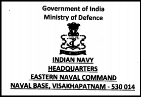 Eastern Naval Command Vishakhapatnam Latest Jobs Opening February 2015