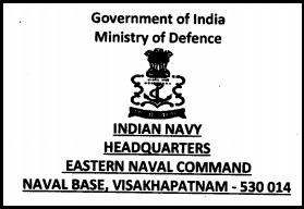 Eastern Naval Command Vishakhapatnam Latest Jobs Opening February 2015