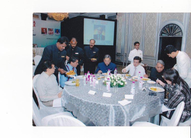 Sit Down dinner with Hon'ble Foreign Minister SM Krishna