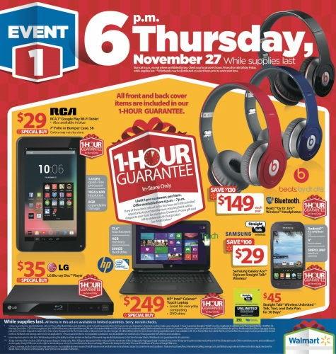 Walmart 2014 Black Friday Ad