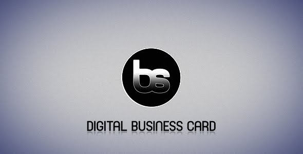VideoHive Digital Business Card