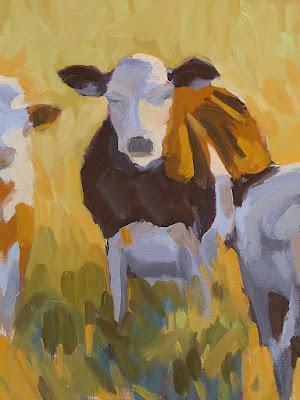 No. 346 - Sunlit Cow