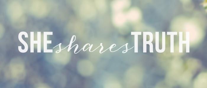 #SheSharesTruth