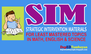 STRATEGIC INTERVENTION MATERIALS (SIM)