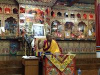 Geshe Thubten Sherab at Kopan Monastery