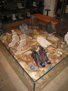 All Saints Spitalfields Shoe Display