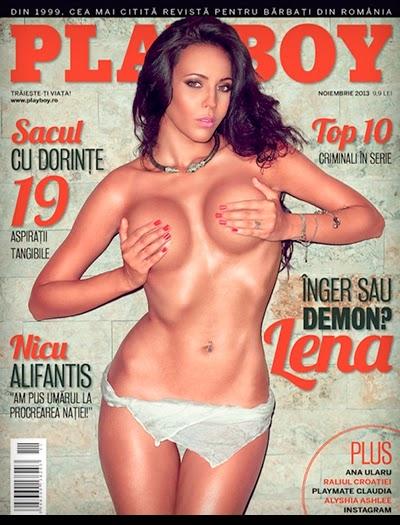 Lena Rohozneanu - Playboy Romania - Novembro 2013
