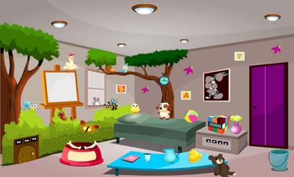 Modern Cartoon Room Escape