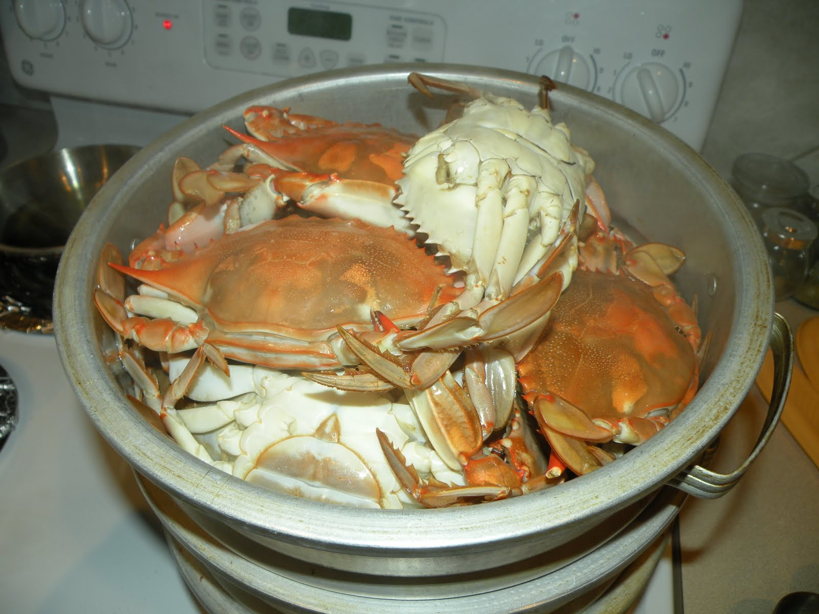 Crabs can be setamed in 30 minutes