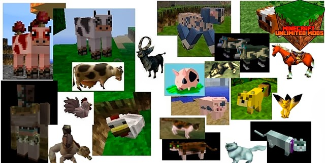Ocarina of Time y Majora's Mask Texture Pack animales