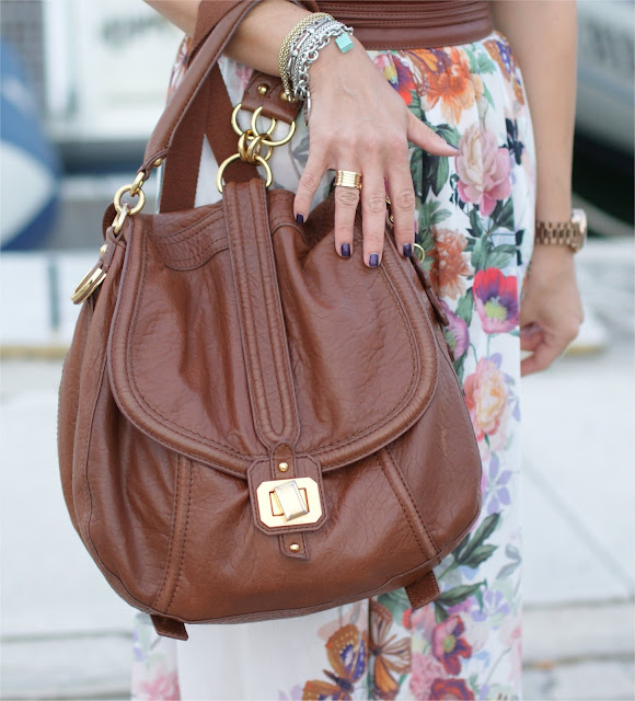 Juicy Couture bag, Chanel taboo nail polish, Fashion and Cookies, bvlgari ring