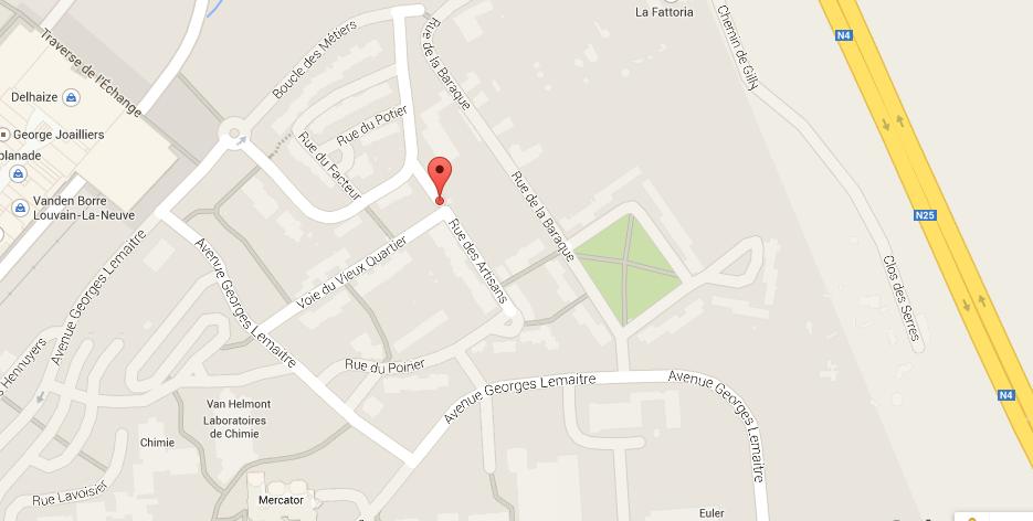 https://www.google.be/maps/place/Rue+des+Artisans+1,+1348+Ottignies-Louvain-la-Neuve/@50.6711712,4.6213771,17z/data=!3m1!4b1!4m2!3m1!1s0x47c17dd62b9079ab:0xa15af7f55164a3d8