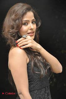 Priyanka Cha Pictures in Sleeveless Black Long Dress 0008