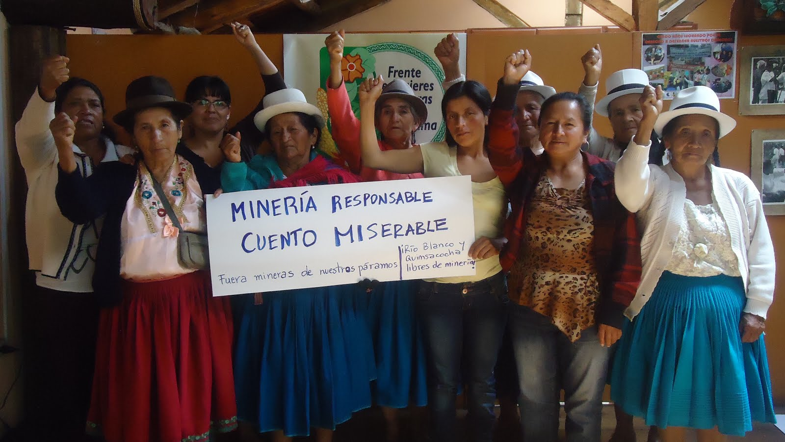 """Minería responsable, cuento miserable"""