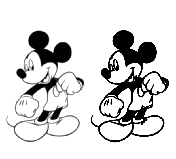 Mickey Mouse - Use the Mickey Mouse SVG for your childern learning ...