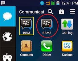 cara dual bbm android