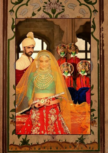 Ather Shahzad for Ali Xeshan Royal Wedding Recreated at Lahore Fort Part II